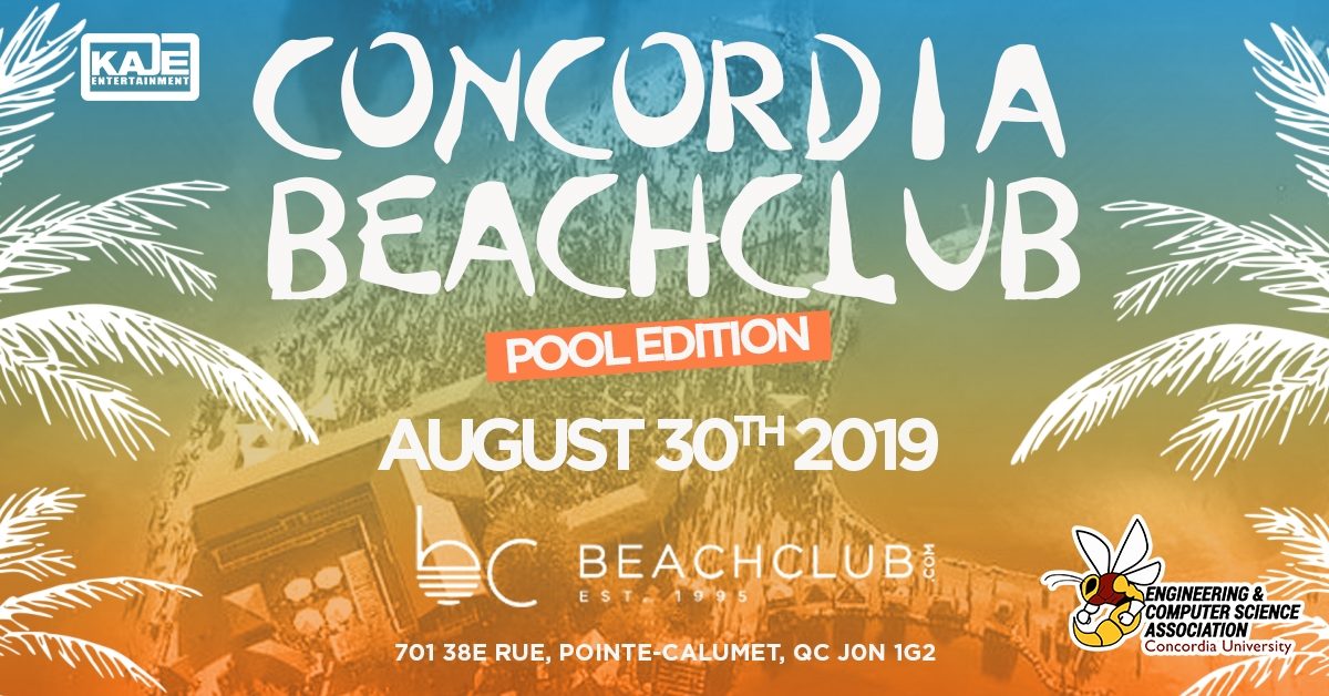 Concordia Beachclub event